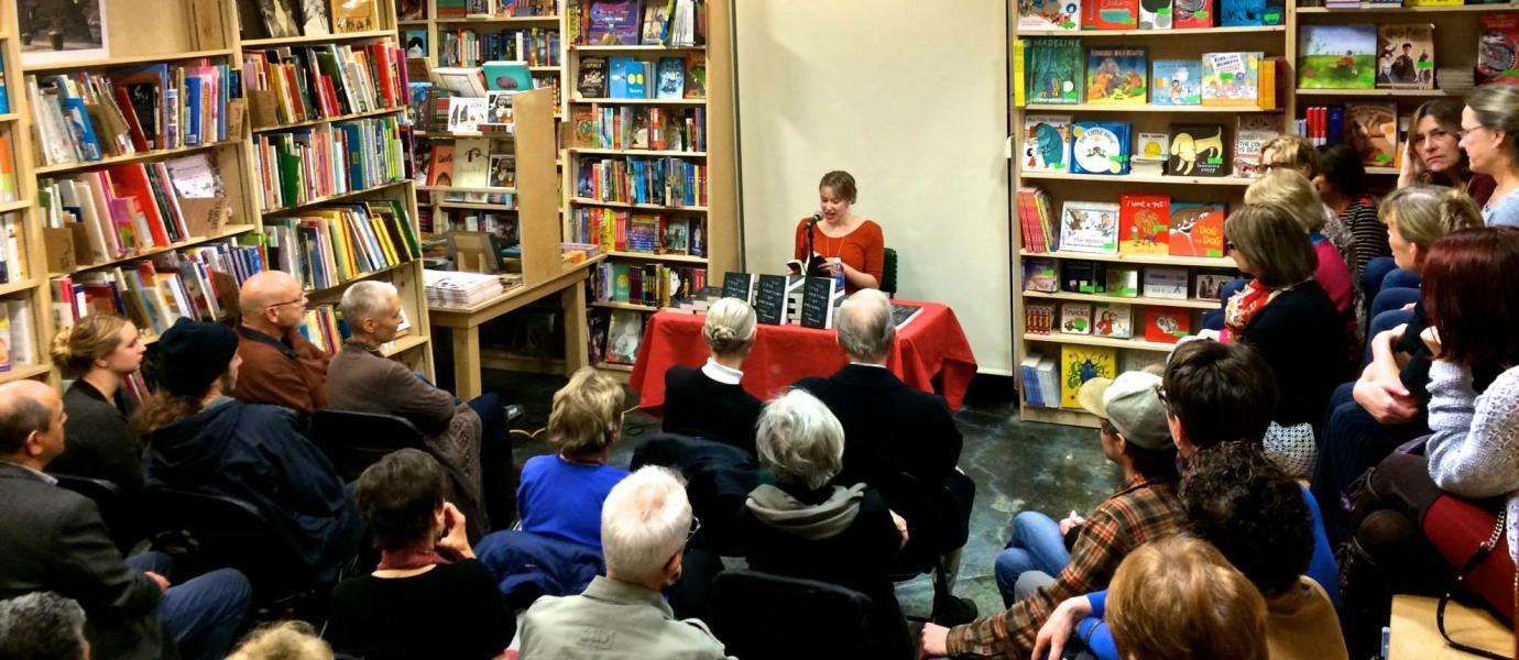 a stimulating author event